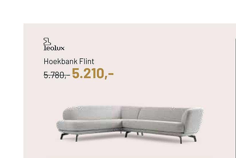 Piet Klerkx Leolux Hoekbank Flint