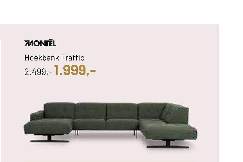 Piet Klerkx Montèl Hoekbank Traffic