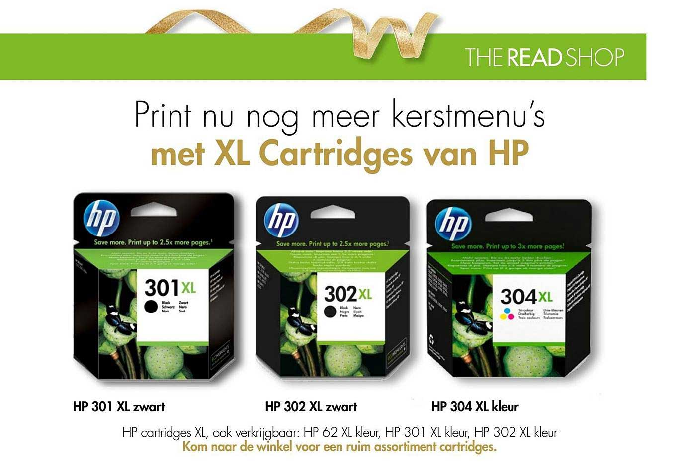 The Read Shop XL Cartridges Van HP