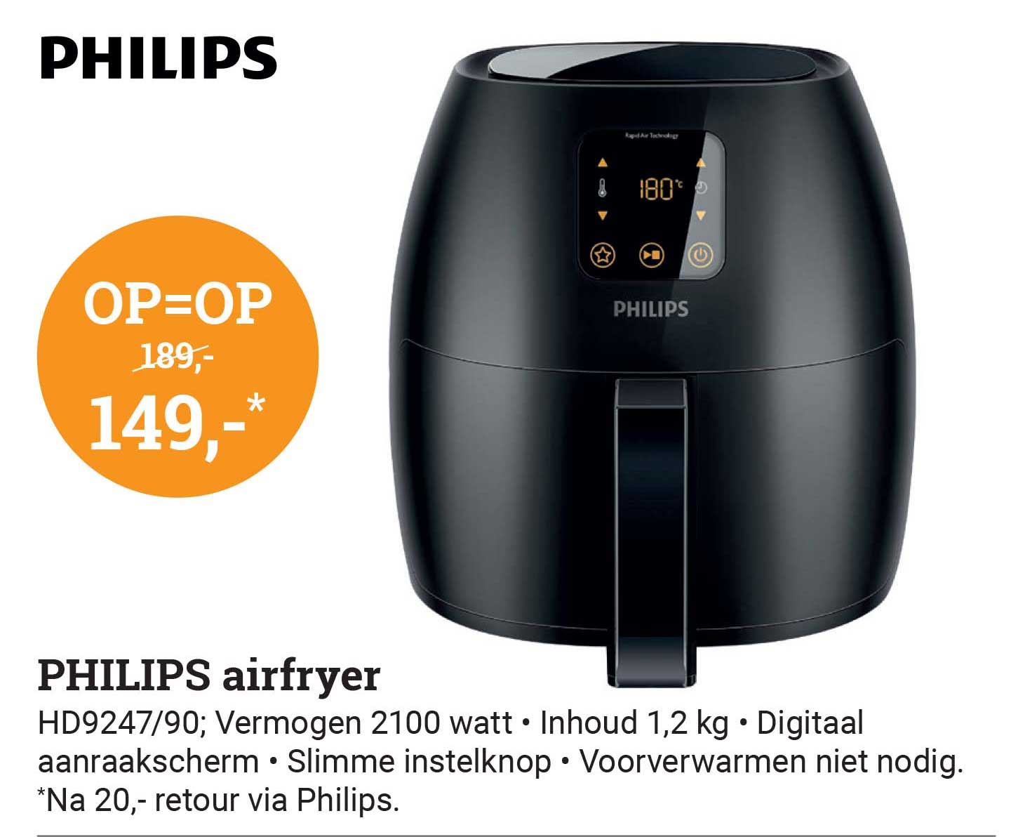 BCC Philips Airfryer