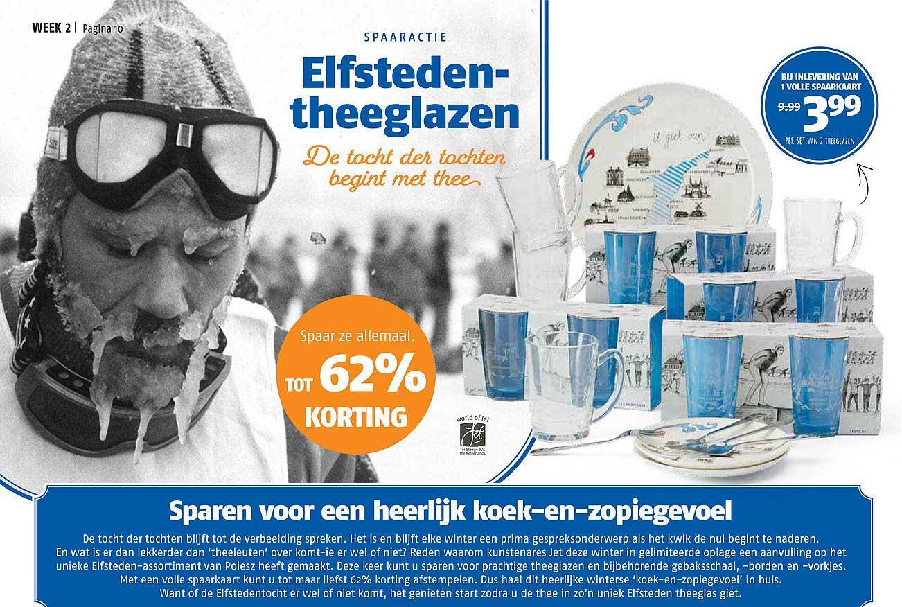 Poiesz Elfsteden Theeglazen Tot 62% Korting
