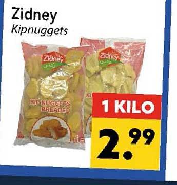 Tanger Markt Zidney Kipnuggets