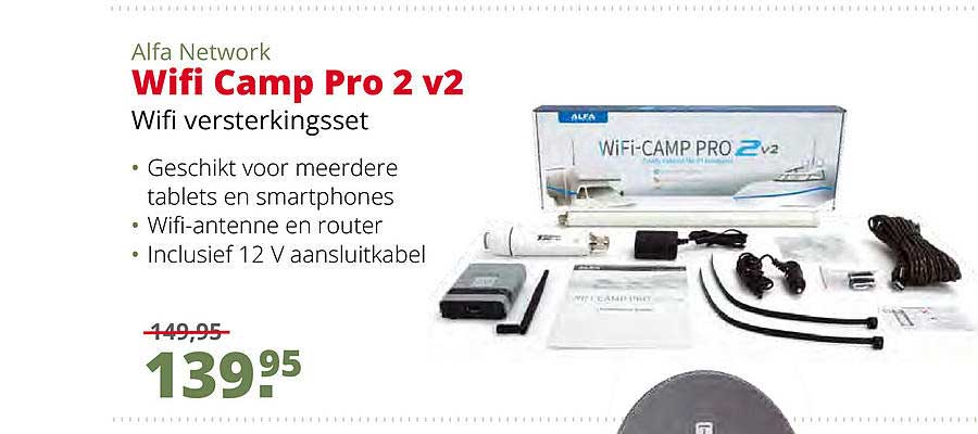 Teun Alfa Network Wifi Camp Pro 2 V2