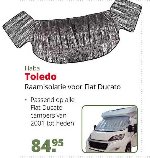 Teun Haba Toledo Raamisolatie Voor Fiat Ducato