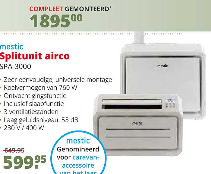 Teun Mestic Splitunit Airco SPA-3000