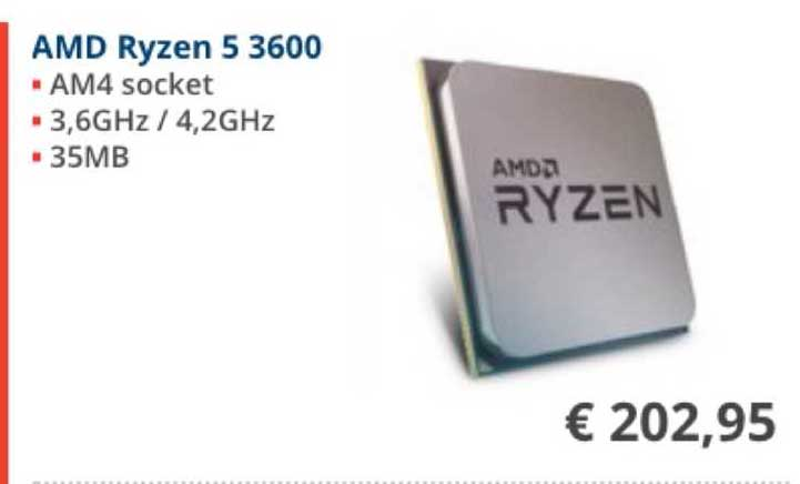 Informatique AMD Ryzen 5 3600