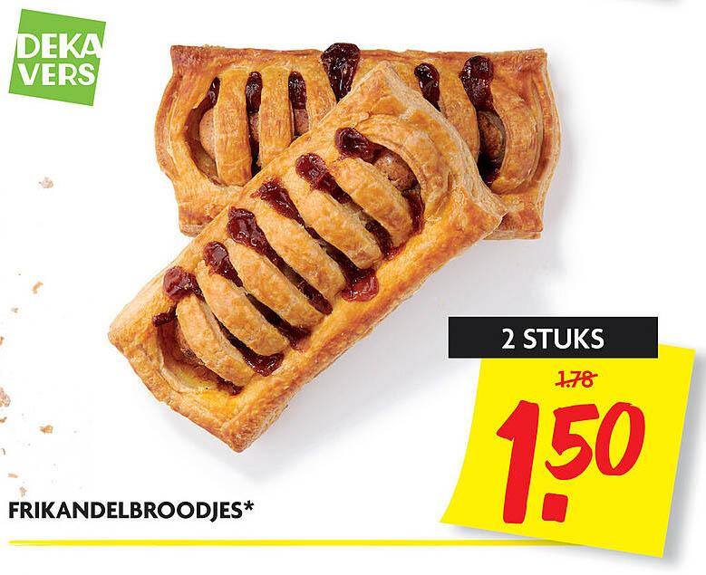 DekaMarkt Frikandelbroodjes