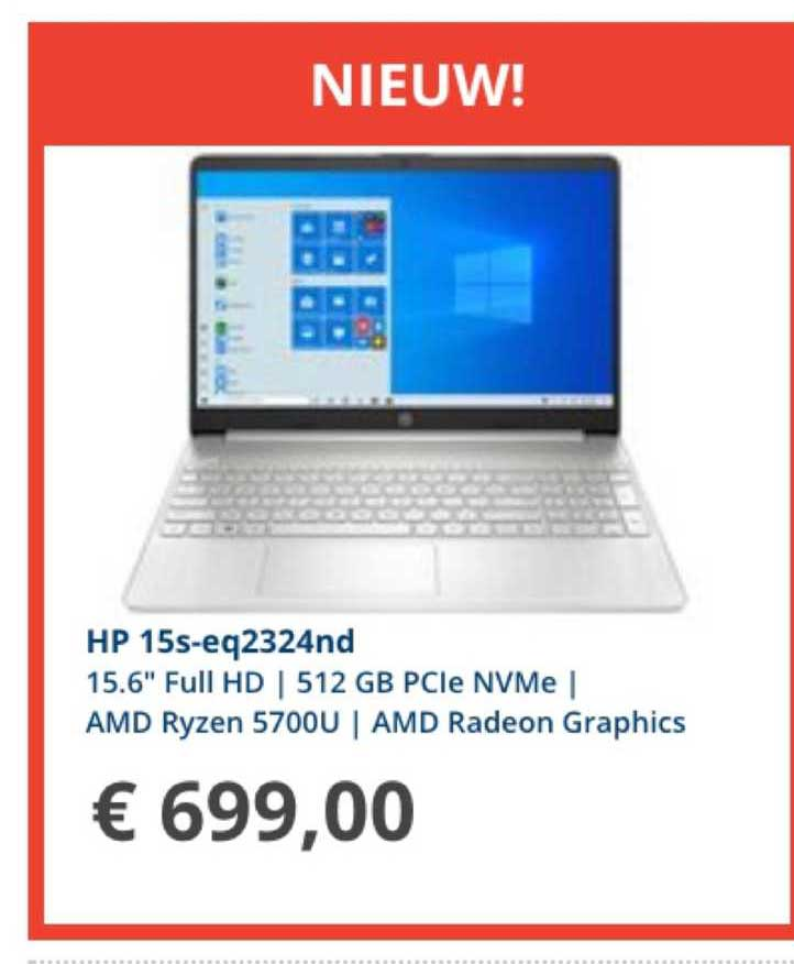 Informatique HP 15S-EQ2324ND 15.6
