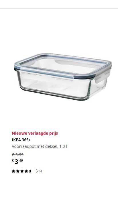 IKEA Ikea 365+ Voorraadpot Met Deksel, 1.0 L