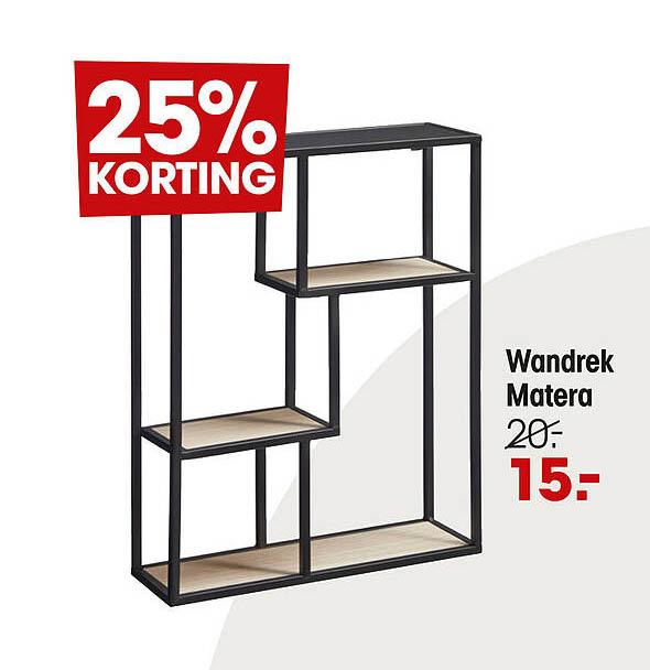 Kwantum Wandrek Matera 25% Korting
