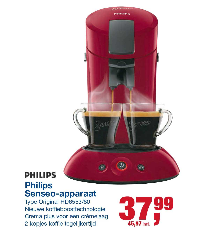 Makro Philips Senseo Apparaat