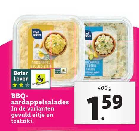Lidl BBQ-Aardappelsalades