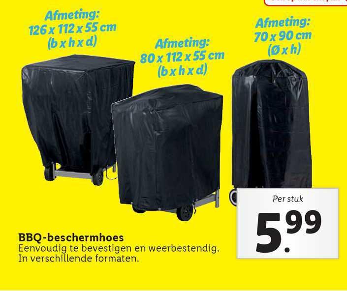 Lidl BBQ-Beschermhoes