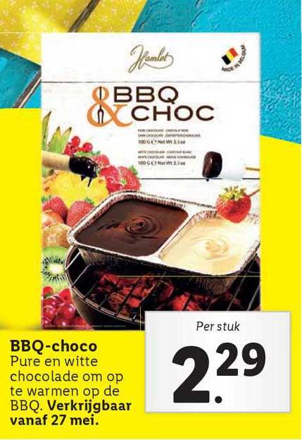 Lidl BBQ-Choco