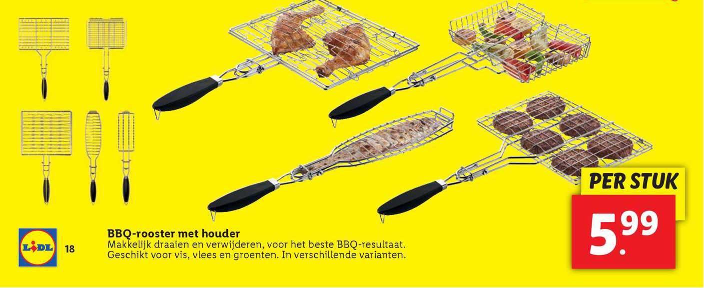Lidl BBQ-Rooster Met Houder