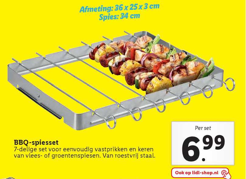 Lidl BBQ-Spiesset