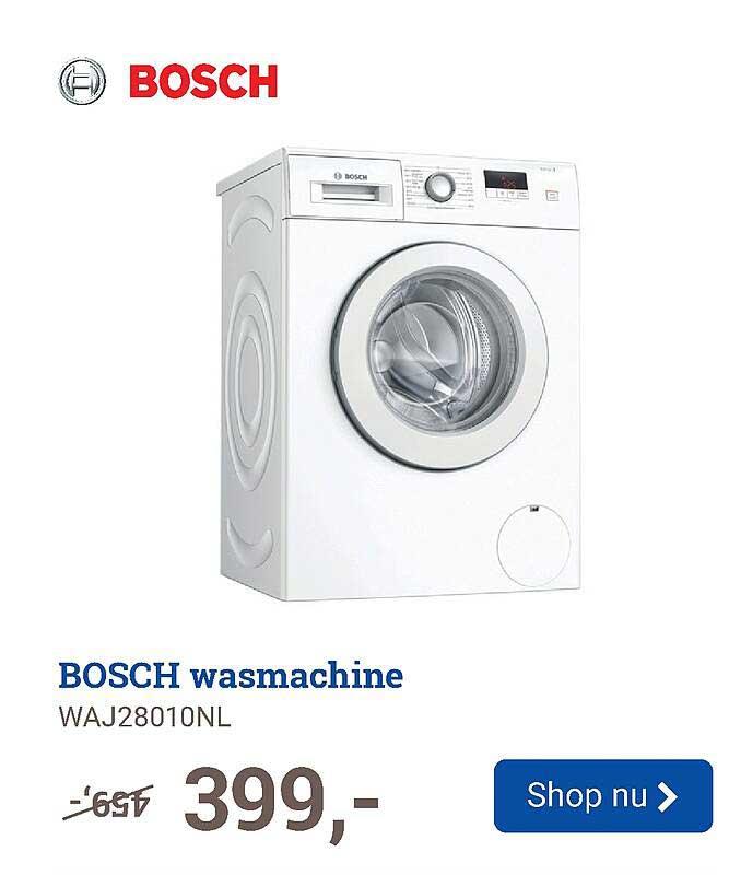 BCC Bosch Wasmachine WAJ28010NL