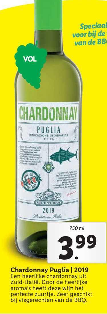 Lidl Chardonnay Puglia | 2019