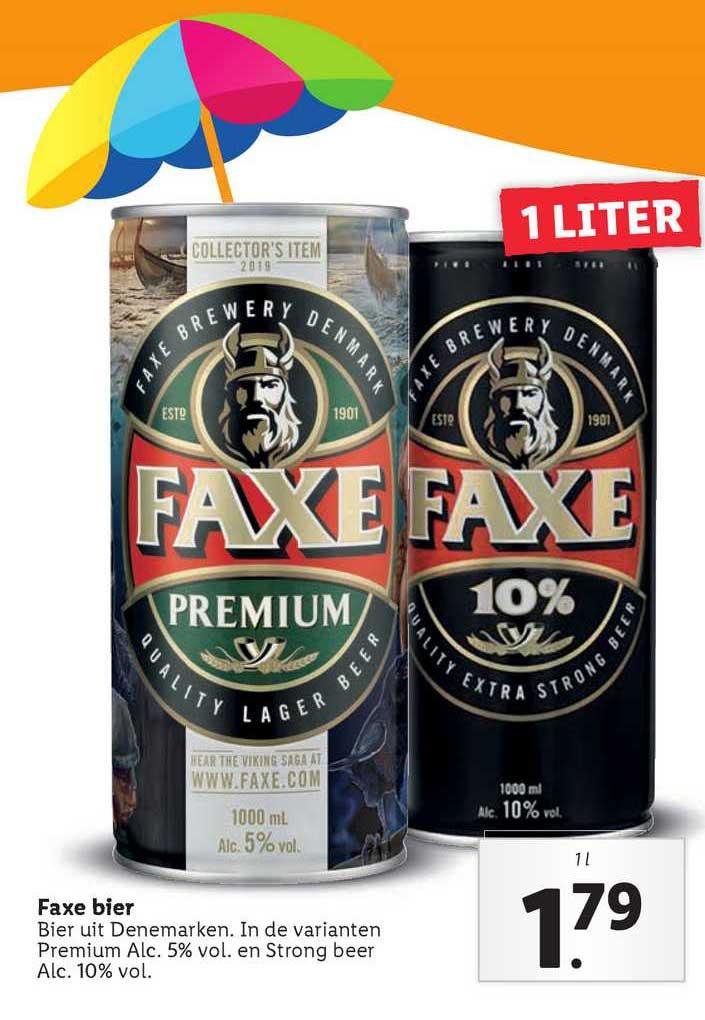 Lidl Faxe Bier