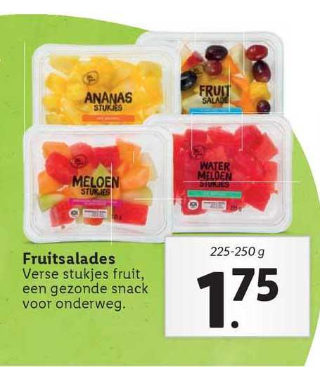 Lidl Fruitsalades