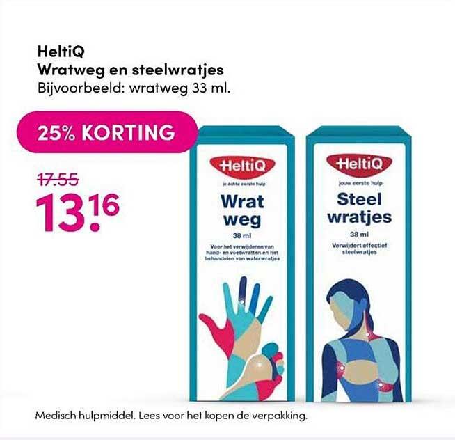 DA HeltiQ Wratweg En Steelwratjes 25% Korting