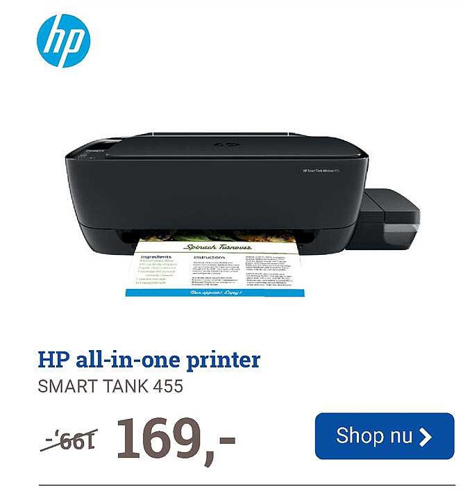 BCC HP All-in-One Printer Smart Tank 455