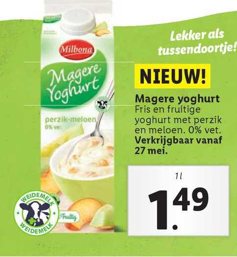 Lidl Magere Yoghurt