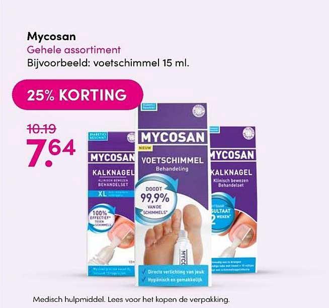 DA Mycosan 25% Korting