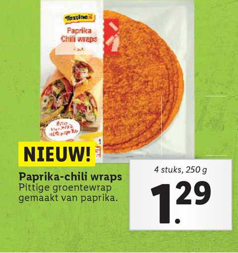 Lidl Paprika-Chili Wraps