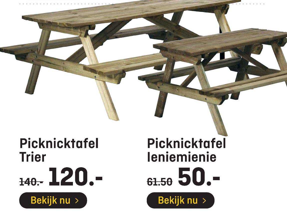 Hubo Picknicktafel Trier Of Picknicktafel Leniemienie