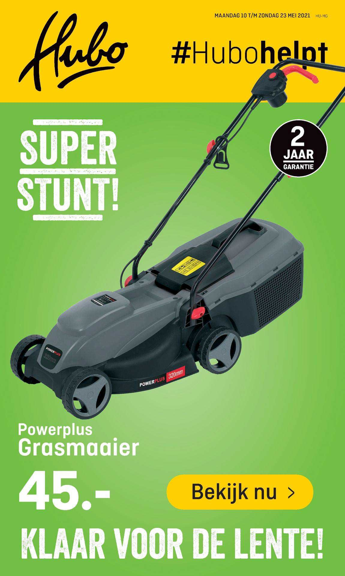 Hubo Powerplus Grasmaaier