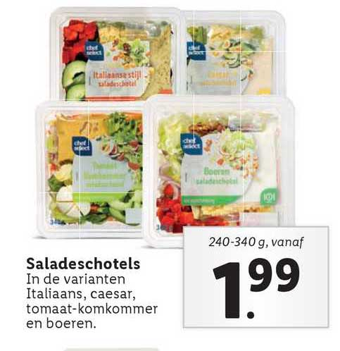Lidl Saladeschotels