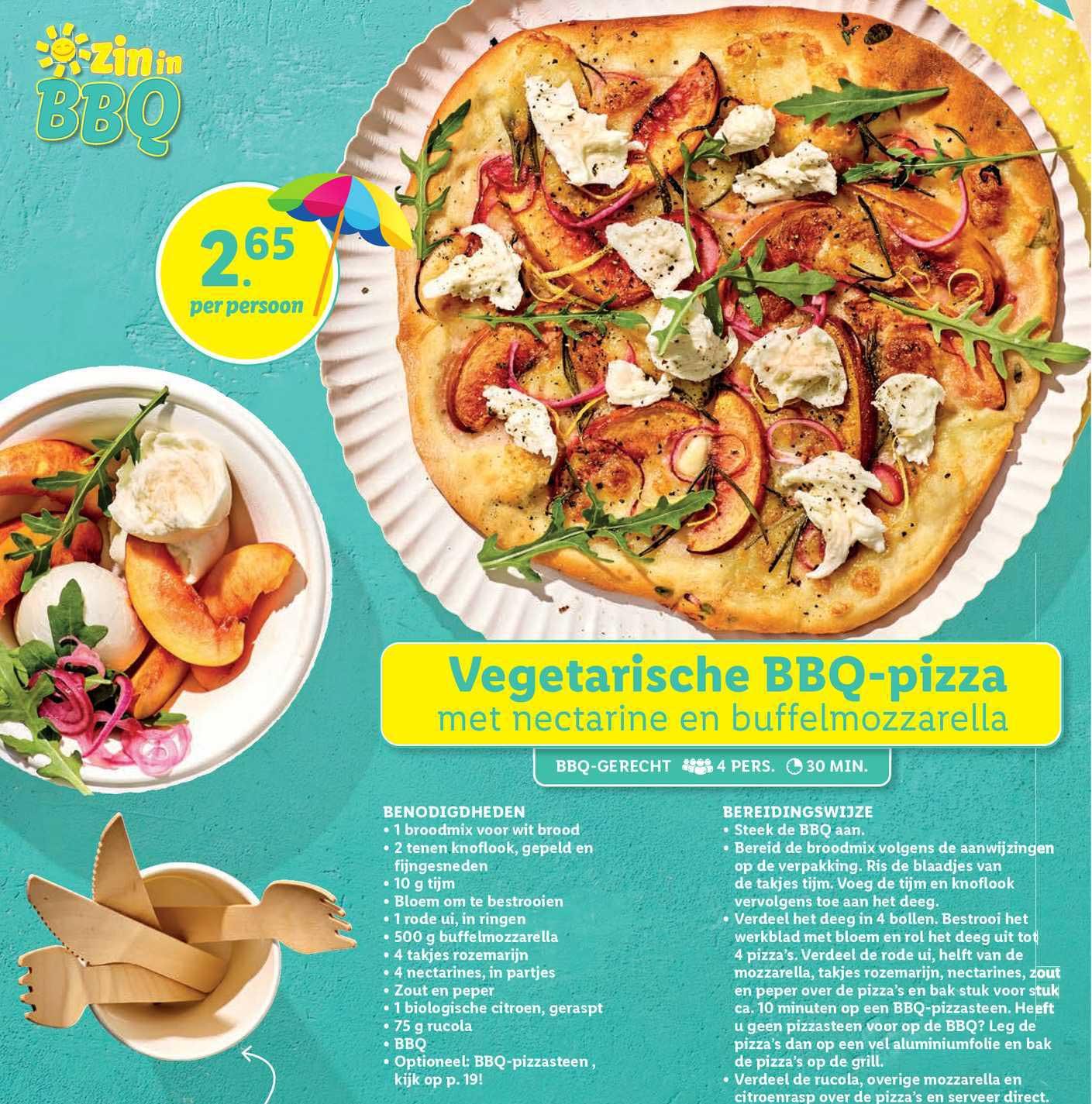 Lidl Vegetarische BBQ-Pizza