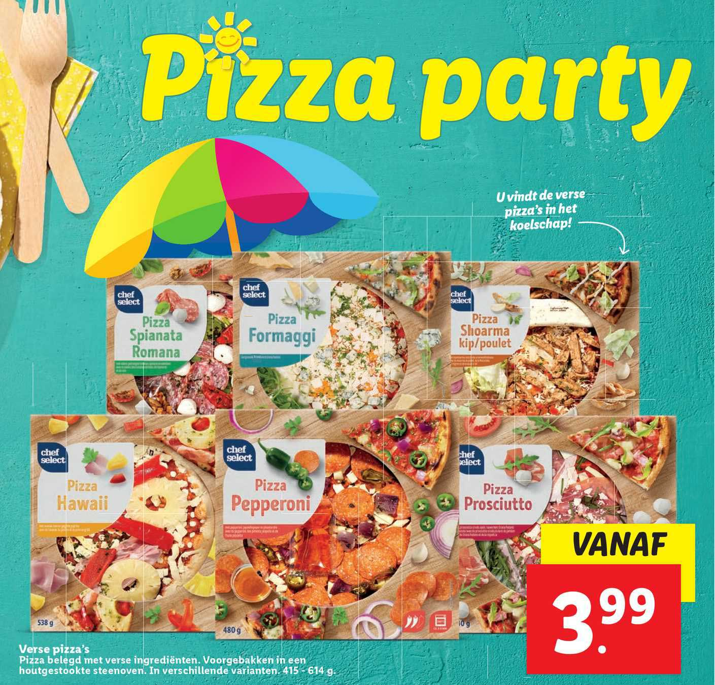 Lidl Verse Pizza's