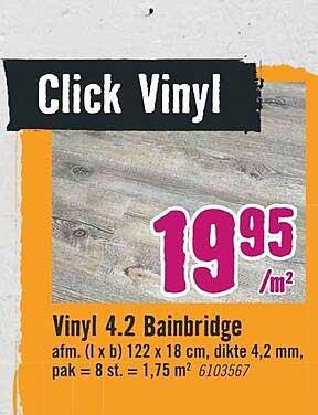 Hornbach Vinyl 4.2 Bainbridge