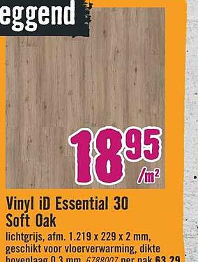 Hornbach Vinyl ID Essential 30 Soft Oak