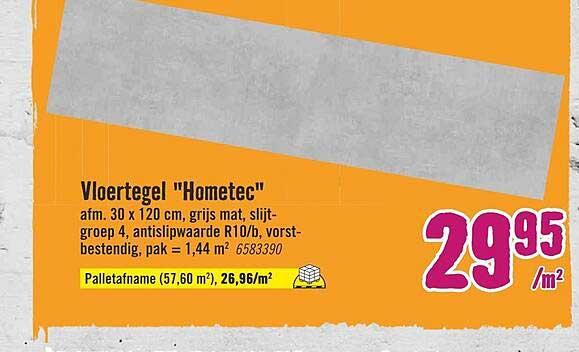 Hornbach Vloertegel