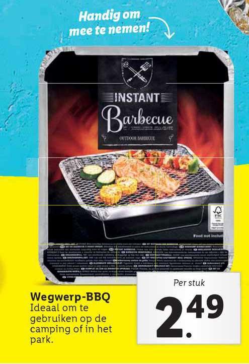 Lidl Wegwerp-BBQ