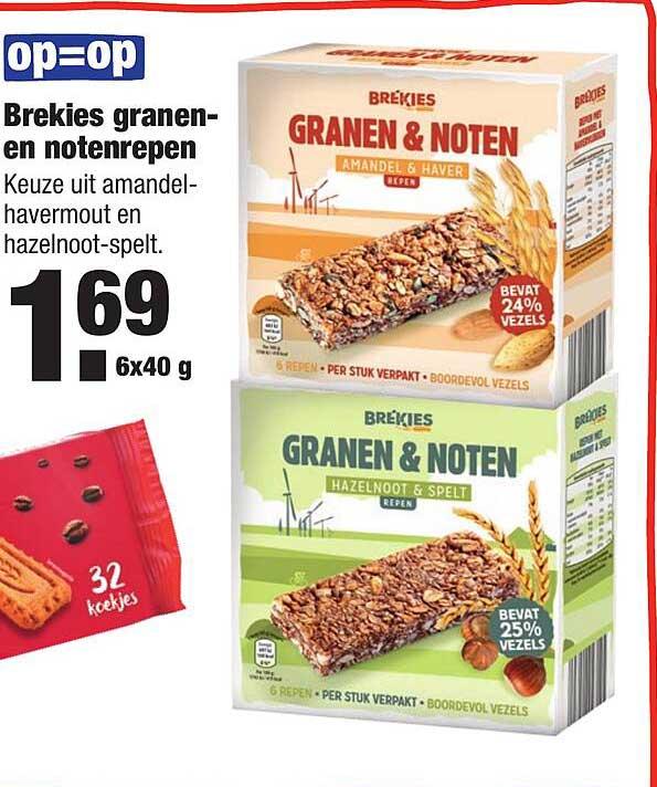 ALDI Brekies Granen- En Notenrepen
