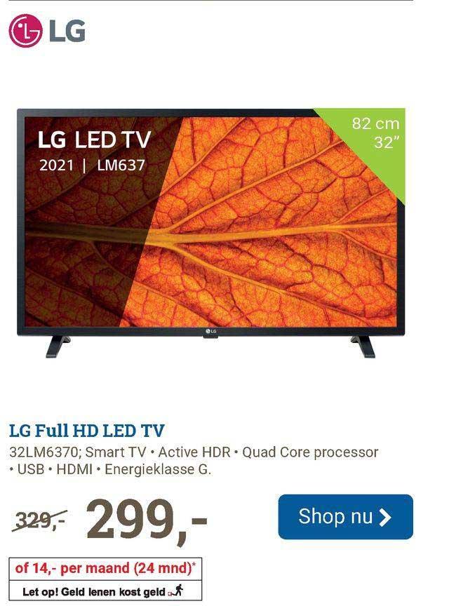 BCC LG Full HD Led TV 32LM6370