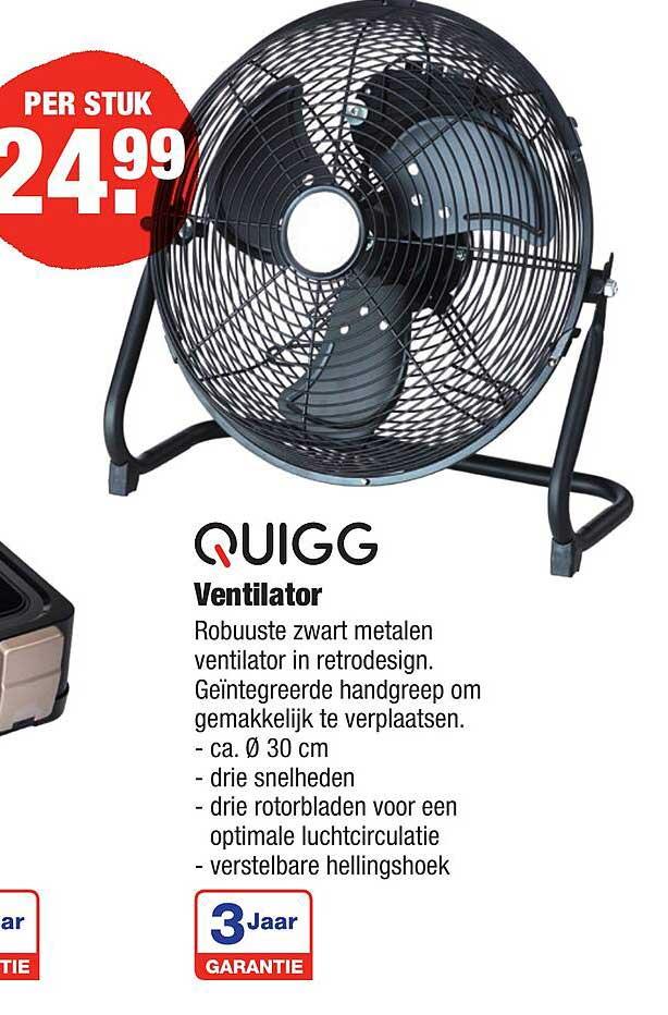 ALDI Quigg Ventilator