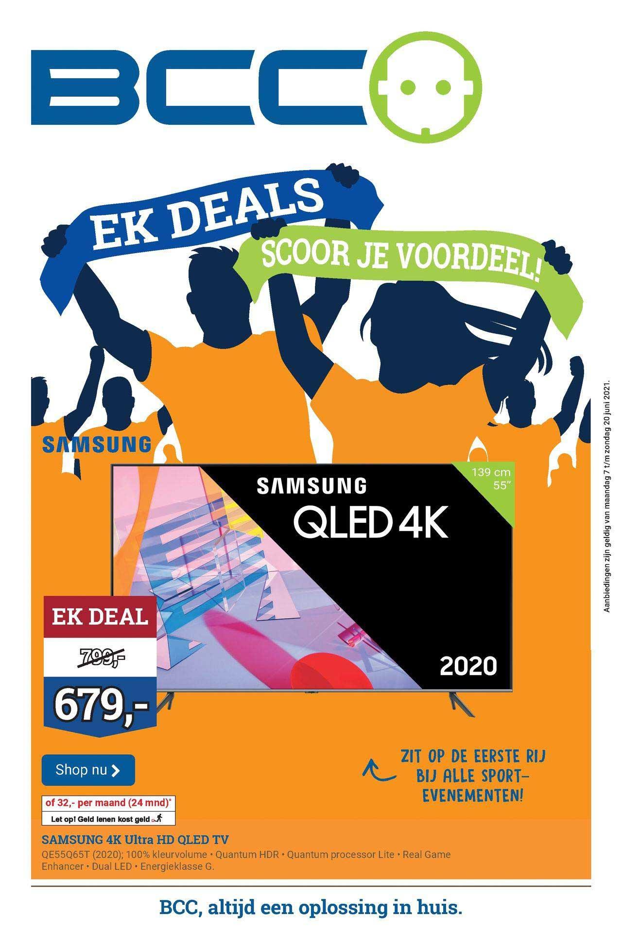 BCC Samsung 4K Ultra HD QLED TV QE55Q65T (2020)