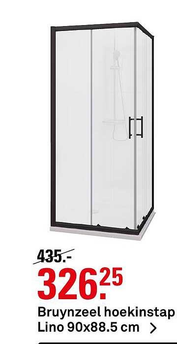 Karwei Bruynzeel Hoekinstap Lino 90x88.5 Cm