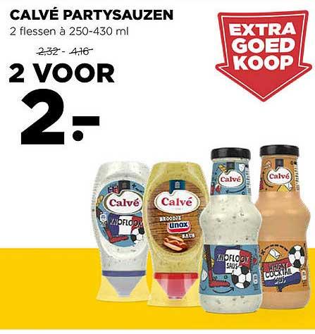 Jumbo Calvé Partysauzen