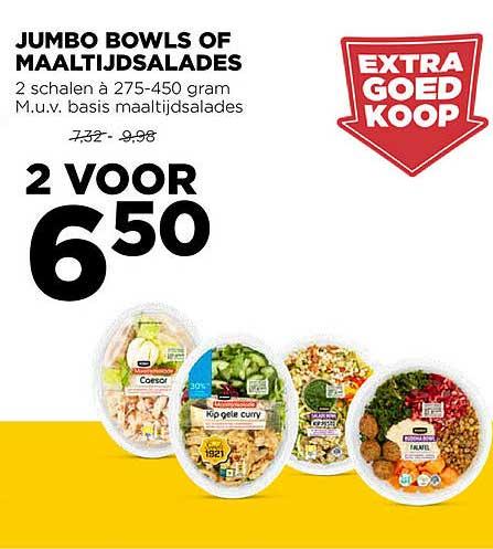 Jumbo Jumbo Bowls Of Maaltijdsalades