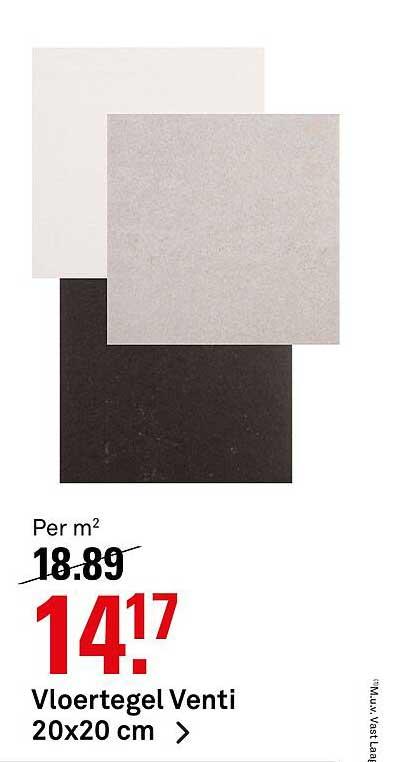 Karwei Vloertegel Venti 20x20 Cm