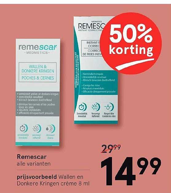Etos Remescar 50% Korting