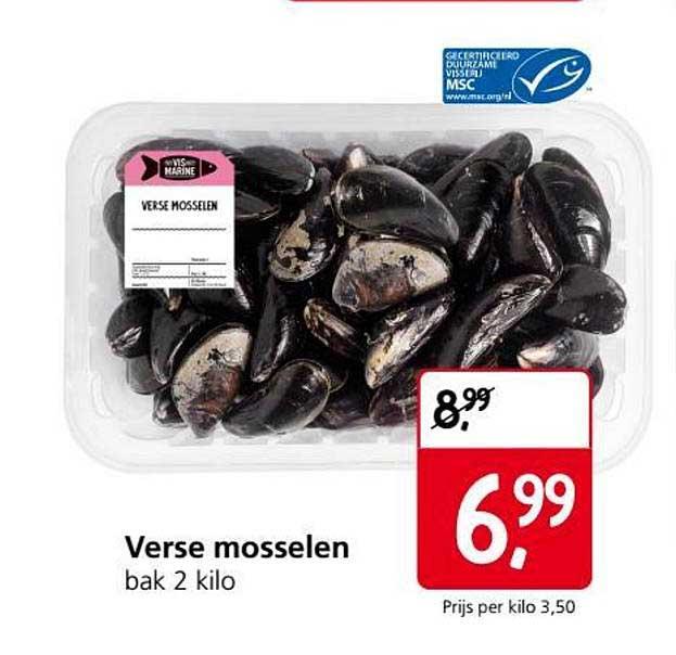 Jan Linders Verse Mosselen
