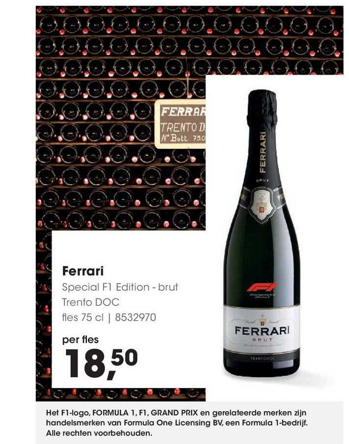 HANOS Ferrari Special F1 Edition - Brut Trento DOC