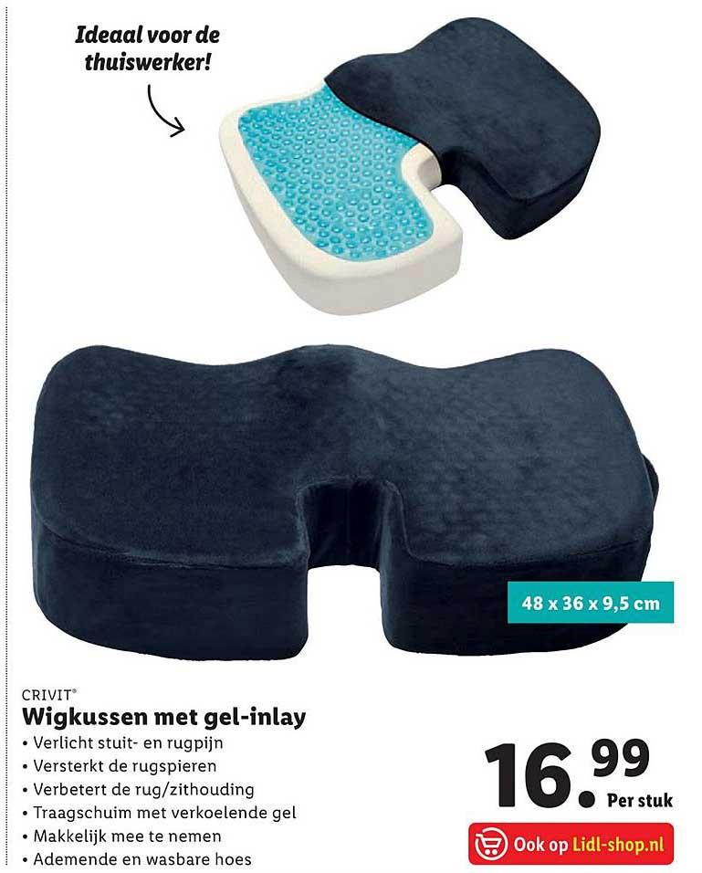 Lidl Crivit Wigkussen Met Gel-Inlay